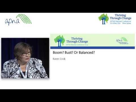 Boom? Bust? Or Balanced? - Karen Cook