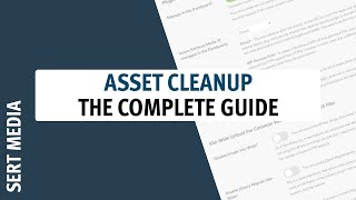 Asset CleanUp: Page Speed Booster Tutorial 2020 - How To Setup Asset CleanUp: Page Speed Booster