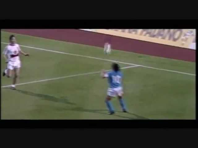 Maradona Napoli Best Goals and Skills