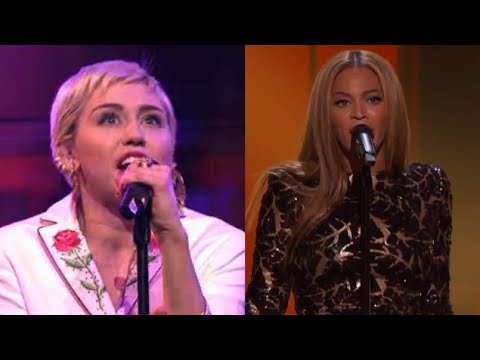 Miley Cyrus Vs. Beyonce: ULTIMATE Cover-Off?!