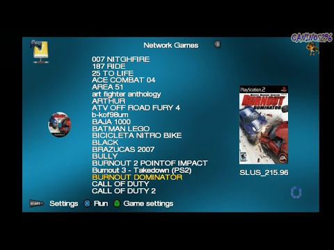 open ps2 loader 0.8 (configurando a rede no ps2) e instalando os apps