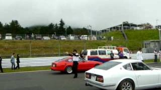 BERC Drag Racing 30Z vs 130Z!  Datsun Z-cars 1st vs 2nd gen. race 2010/10/10