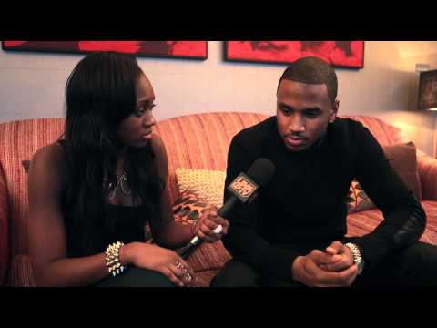 Trey Songz Talks To Remel London | Link Up TV