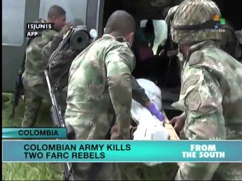 Colombian Army Kills Two FARC Rebels