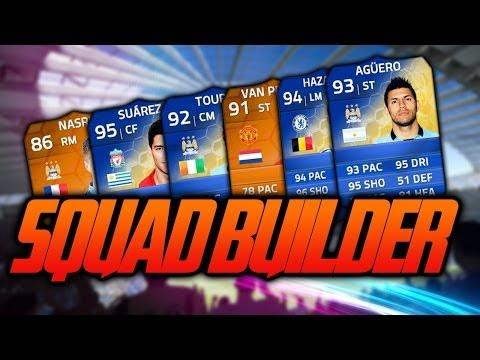 Fifa 14 Expensive Best Possible Premier League BPL Squad Builder Full Inform