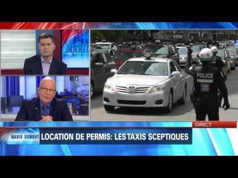 L'industrie du taxi demande une loi spéciale: point de presse de Guy Chevrette