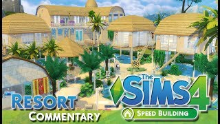 IL PROGETTO PIU' DIFFICILE! RESORT-COMMENTARY-The sims 4 ITA-Speed Build