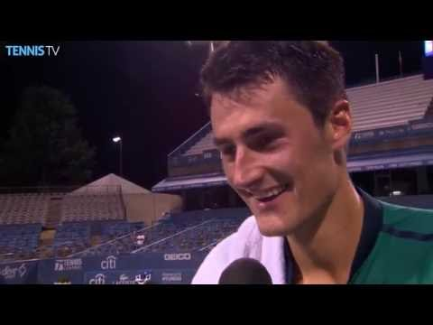 Tomic Talks First Victory Over Young In Washington 2016