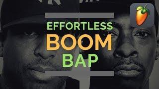 FL Studio 20 | Effortless Boom Bap | Using Akai Fire & Akai S950 VST