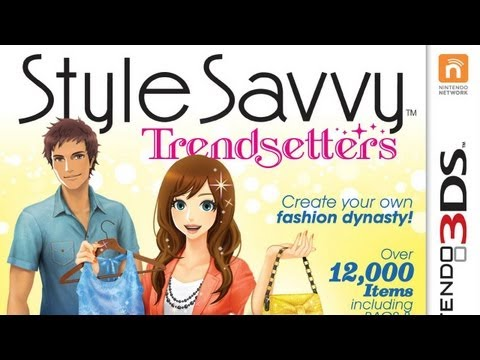 CGRundertow STYLE SAVVY: TRENDSETTERS for Nintendo 3DS Video Game Review