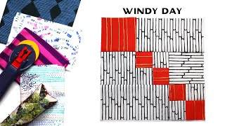 Sew Modern Quilts: Windy Day for the Modern Quilt Block Series