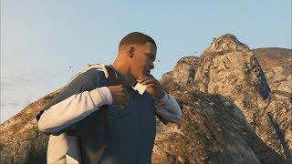 Grand Theft Auto V - Parachute Jump #11 - Falling Mouse