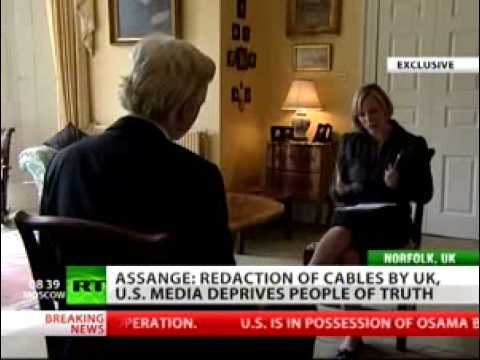WikiLeaks' Julian assange: Facebook is CIA spying machine