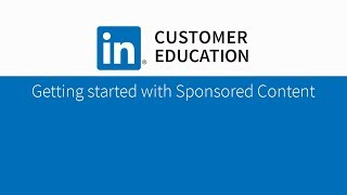 Getting started with Sponsored Content