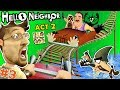 ESCAPE HELLO NEIGHBOR PRISON: FGTEEV ACT 2 - Roller Coaster, Shark & Doll House (Full Game Part 3)