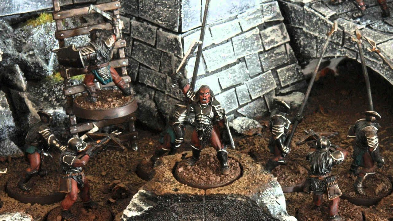 Lord Of The Rings Wargames Miniatures