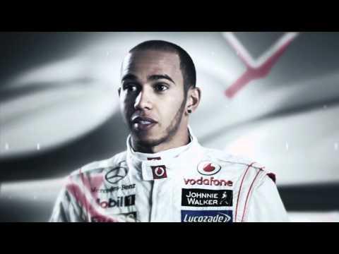 London Grand Prix with Hamilton and Button