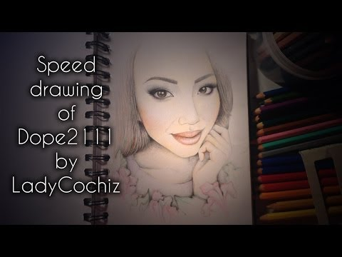 Speed drawing of Dope2111 by LadyCochiz