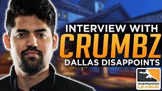 Overwatch: Dallas Disappointment & Is Tracer Too Strong? - Crumbz Interview