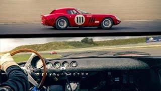 Ferrari 250 GTO onboard racing