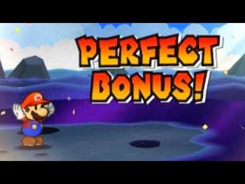 Paper Mario Sticker Star - Perfect Bonuses on 4 Major Bosses!