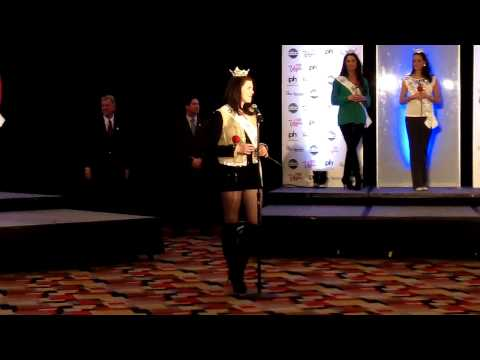Miss America 2013 Contestant Introductions at PH Las Vegas 1 1-3-13