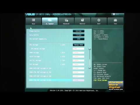 Материнская плата ASUS P8Z68-V Pro. Возможности BIOS