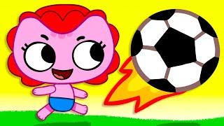 Песня про Футбол - Детские песни - Kit and Kate и Песни для детей