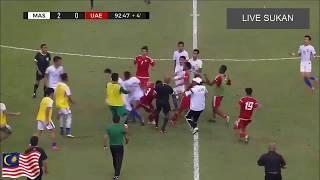 PERGADUHAN MALAYSIA VS UAE