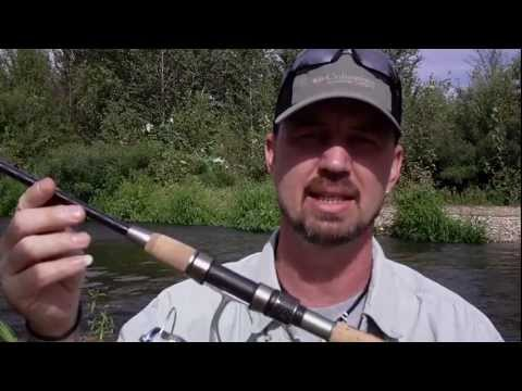 Backpacking Fishing Rod & Reel Review - Alegra Mini Spin Rod And Mini 515 Reel by Balzer