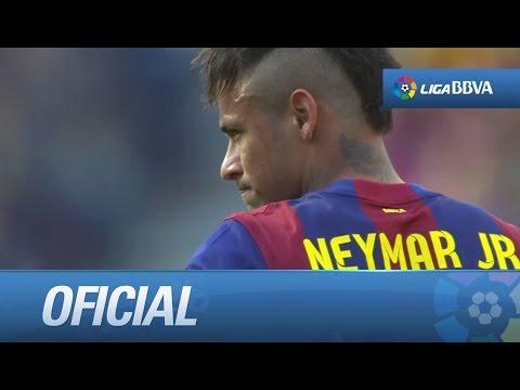 Espectacular sombrero de Neymar