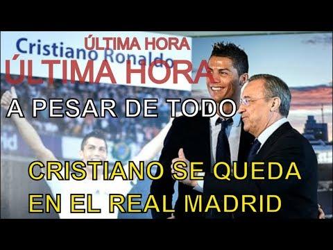 ÚLTIMA HORA:  CRISTIANO SE QUEDA EN EL REAL MADRID . RUMOR O REALIDAD. thumbnail