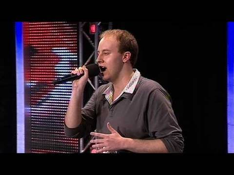 The X Factor 2009 - Scott James - Auditions 6 (itv.com/xfactor)