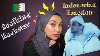 Soolking - Rockstar [Clip Officiel] | INDONESIA REACTION