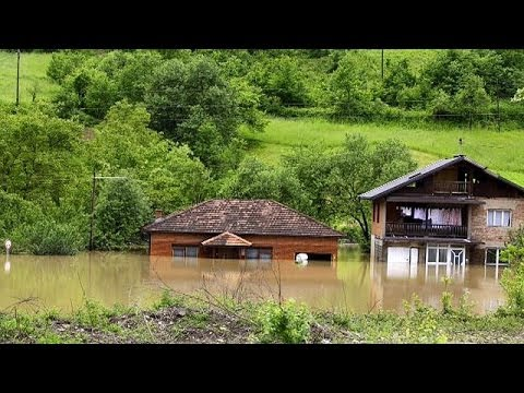 State of emergency in Austria, Bosnia and Serbia after severe floods