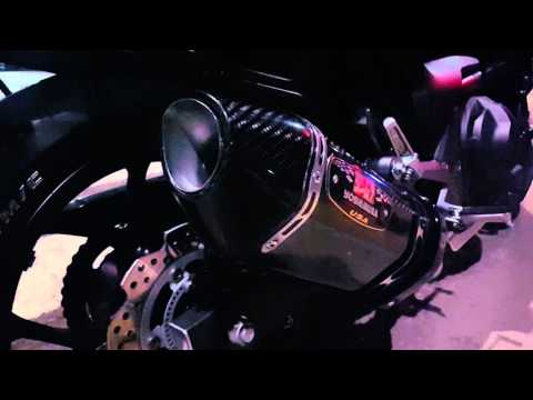 Honda nc750s Yoshimura Carbon R-77 Idle Sound