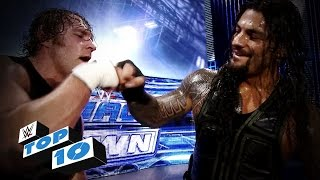 Top 10 WWE SmackDown moments  January 9 2015