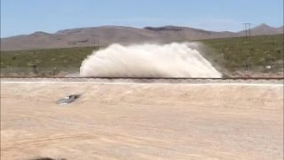 Watch the Hyperloop One launch into high speed for the first time