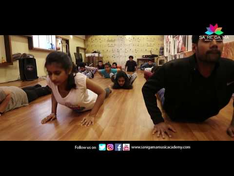 Special session Of Yoga By Mandar Marathe at Saregama Music Academy