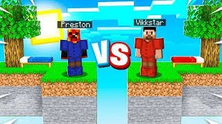 The ULTIMATE Minecraft Sky Block Battle! (Red vs Blue)