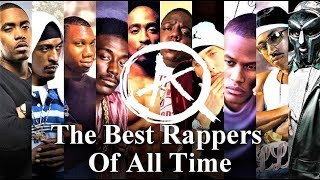 Top 10 Best Rappers of All Time | The Real List of Greatest Rappers