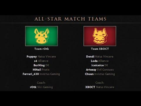 DotA 2 - The International 2014 All Stars Match (Русские Комментарии / Techies)