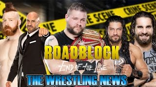 The Wrestling News - Roadblock End of the Line PPV 2016