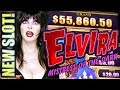 ★NEW SLOT! ELVIRA MIGHTY CASH★ MISTRESS OF THE DARK Slot Machine Bonus (Aristocrat | Gimmie Games)