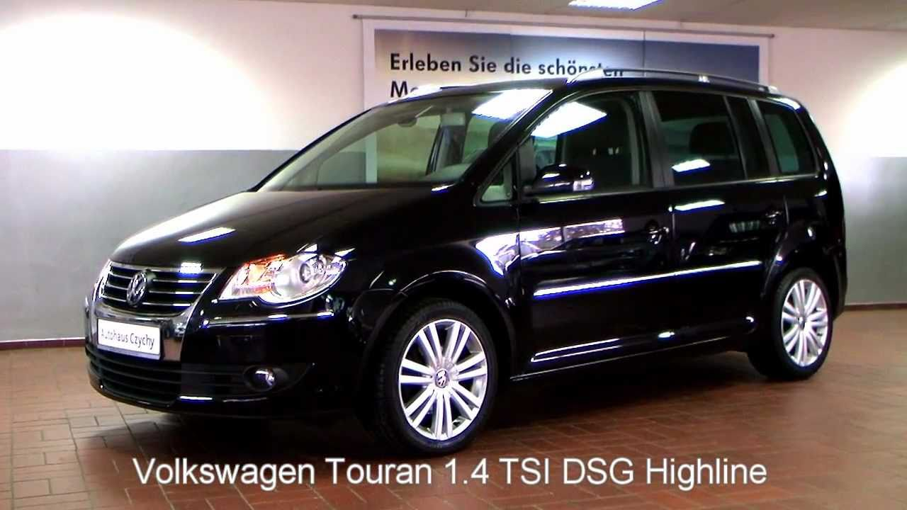 volkswagen touran 1 4 tsi automatic 2007 128142. Black Bedroom Furniture Sets. Home Design Ideas