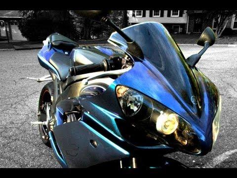 Painting Motorcycle Satin Black