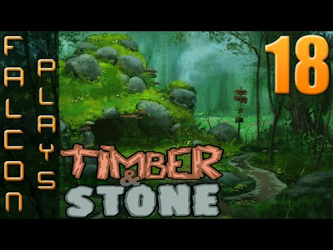 Timber and Stone 1.6+ | Goblin Ambush | Let's Play Timber and Stone Part 18 (60 FPS)