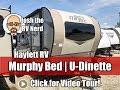 UPDATE! 2018 Rockwood 2104S Mini Lite Murphy Bed Ultralite Couple's Camping Travel Trailer