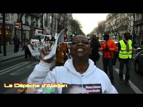 Manifestation à Paris pour exiger la libération de Simone Gbagbo