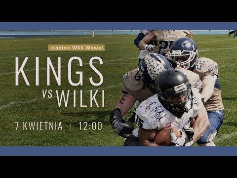 Futbol Amerykański: Kraków Kings Vs. Wilki Łódzkie